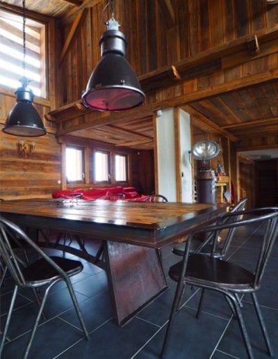 Combloux table Heiffel