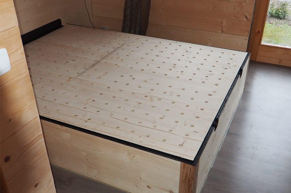 Etude et réalisation lit coffre