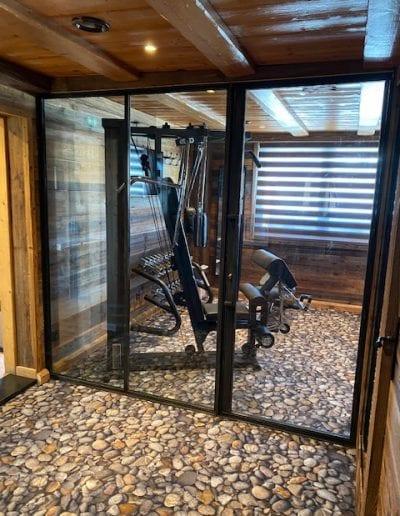 Crest-Voland - Aménagement salle de sport dans Hôtel - Réalisation