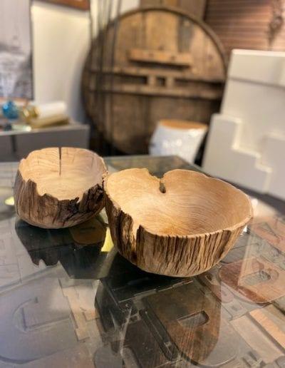 Petits bols en bois