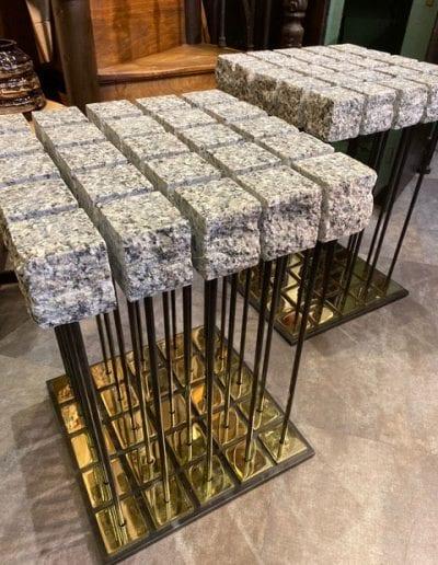 sellettes (granite du Mt Blanc)