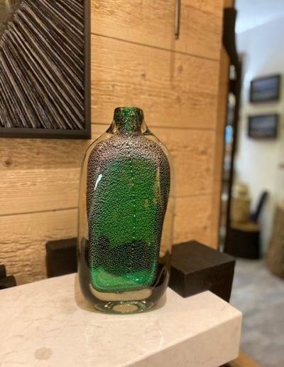 Vase Murano vert